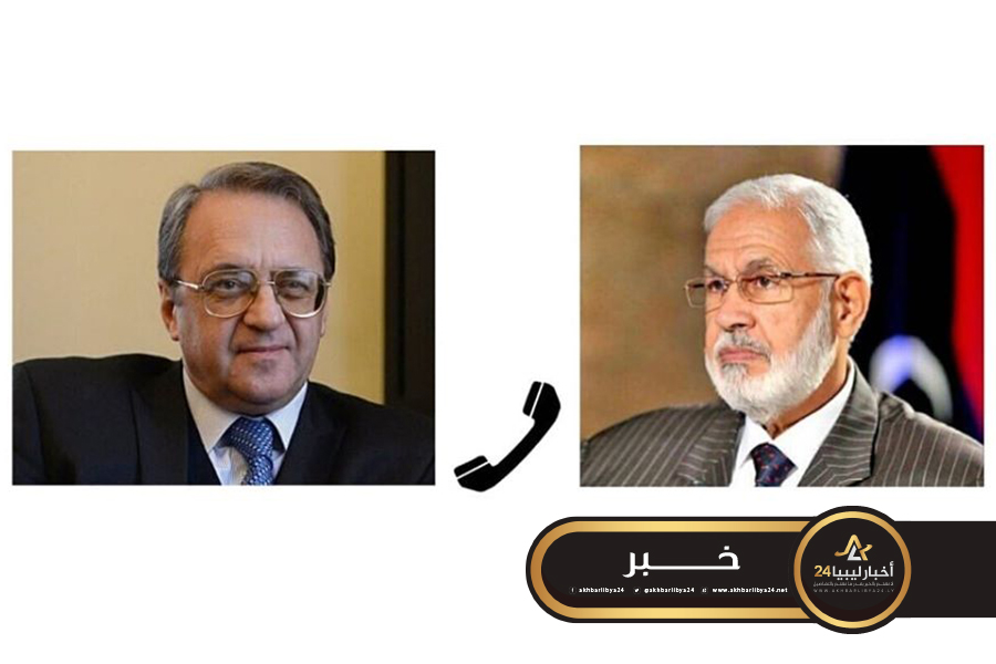 صورة سيالة يطلع بوغدانوف آخر تطورات الأحداث في طرابلس