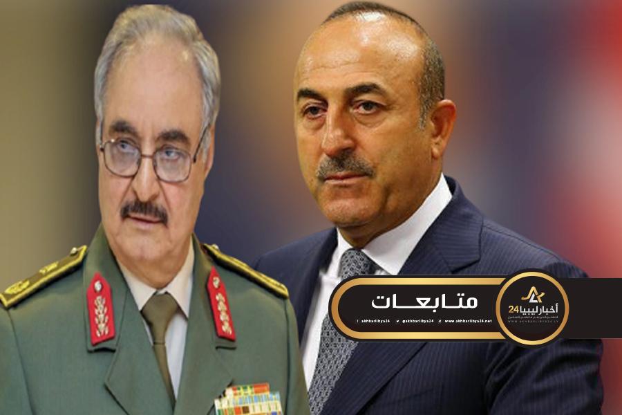 صورة متهمًا الدول العربية بشراء الأنظمة .. أوغلو : حفتر أمير حرب وليس له أي شرعية