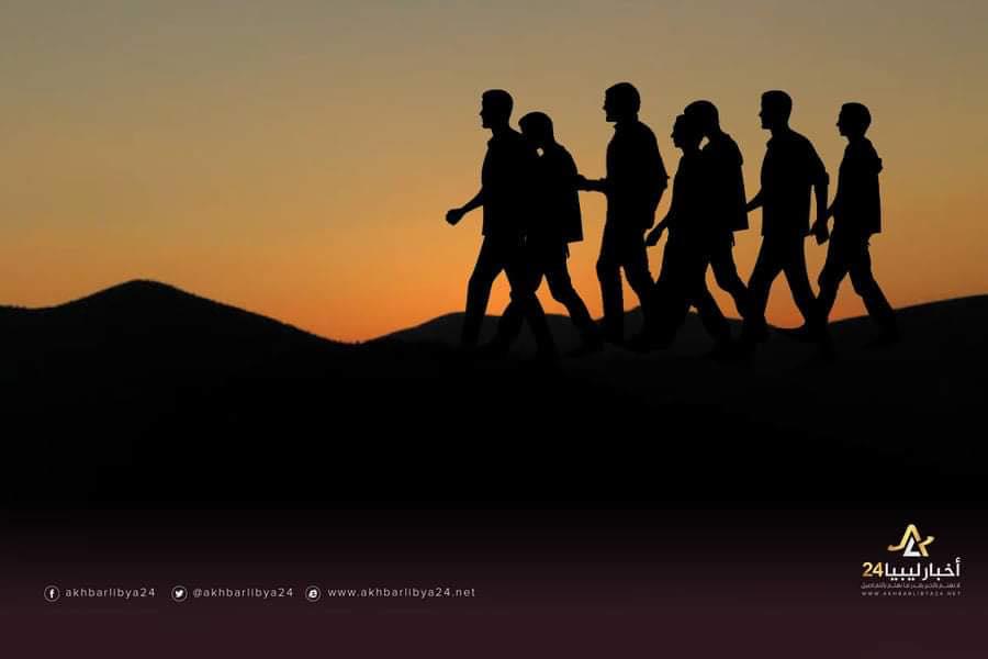 صورة رقيق من نوع آخر …… مهاجرون غير شرعيين يقصون مأساتهم للوصول إلى ليبيا