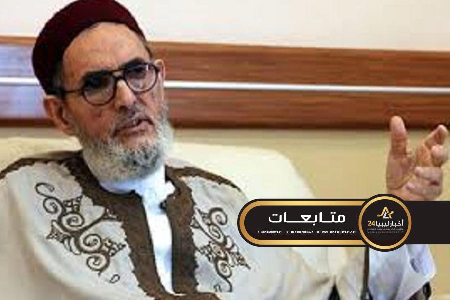 صورة الغرياني لحكومة الوفاق : استخدام السلاح مفتاح نصر القضية