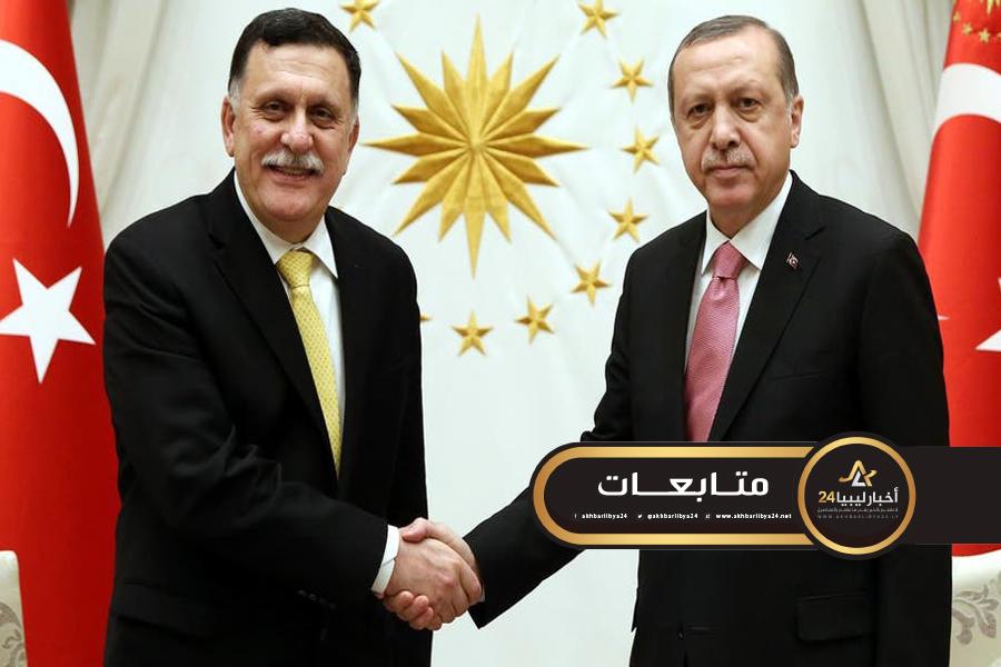 صورة أردوغان: مذكرة التفاهم البحري ستحقق هدفها إذا صمدت حكومة الوفاق