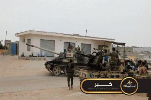 صورة الثابت: عملية نوعية ناجحة في منطقة الهضبة جنوب طرابلس