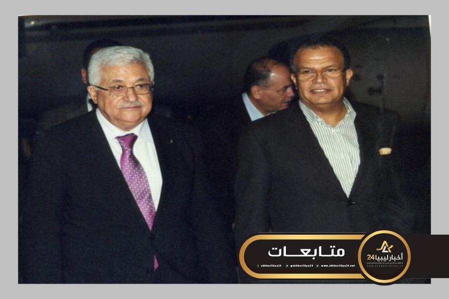 صورة تعقيبًا على خطة ترامب.. سفير ليبيا بالأردن يؤكد للرئيس الفلسطيني أن القضية الفلسطينية ستظل القضية المركزية
