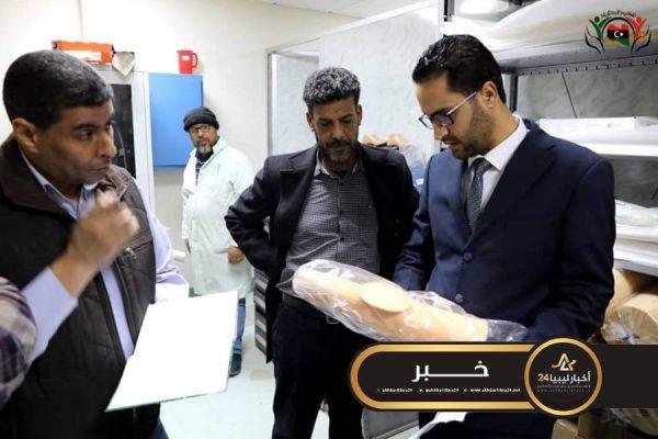 صورة وكيل عام وزارة الشؤون الاجتماعية يطلع على سير العمل بمركز بنغازي لتأهيل المعاقين