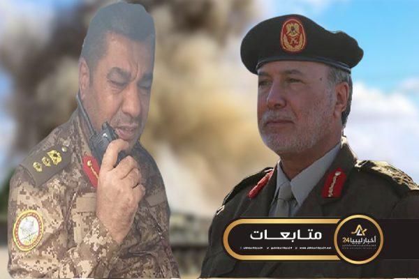 """صورة انقسامات """"جهوية""""..اخليل يصف """"الجويلي"""" بـ""""الصغير"""" ويتهمه بقطع الإمدادات عن قوات مصراتة"""