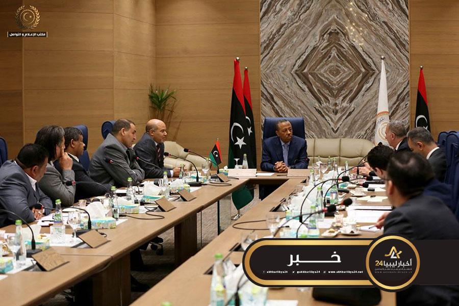 صورة الحكومة الليبية توقع اتفاقية مع شركة مصرية للتعاون وتطوير البنية التحتية