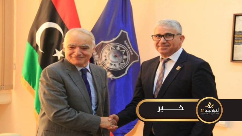 صورة باشاغا يعرب عن أسفه لاستقالة سلامة ويقول إنها ستصعب الأمور في ليبيا
