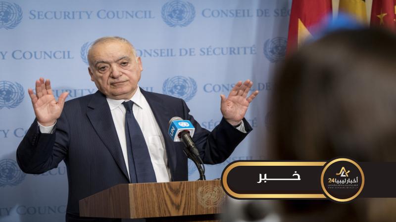 صورة بعد استقالة سلامة.. خارجية الوفاق تدعو المجتمع الدولي لتنفيذ التزاماته