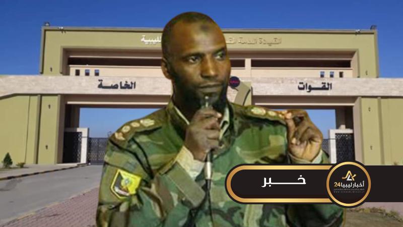 صورة الناطق باسم الصاعقة: القيادة ستكلف قوة مساندة لحماية أملاك الدولة والمواطنين من التعديات