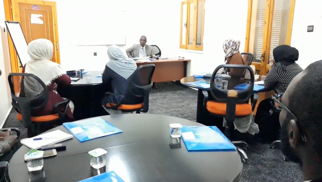 صورة انطلاق اول دورة تدريبية في مجال التحكيم القضائي بسبها