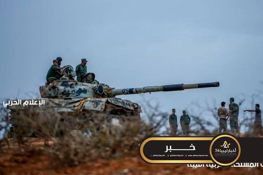 صورة القوات المسلحة تأسر أربعة أفراد من قوات مصراتة في بوقرين
