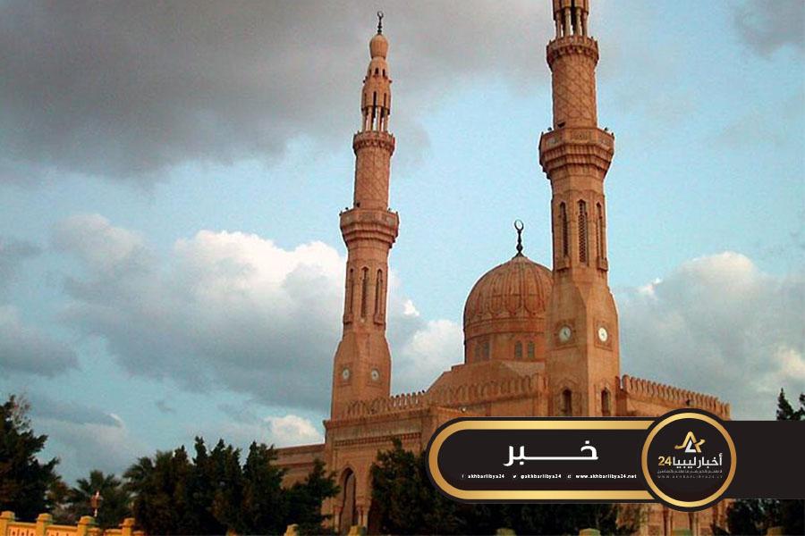 صورة هيئة الأوقاف ببنغازي تقرر فتح المساجد لإقامة الصلوات الخمس فقط