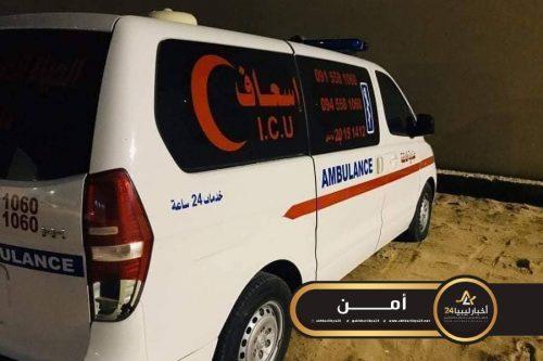 صورة البحث الجنائي يضبط سيارة إسعاف استخدمها سائقها لتهريب المهاجرين