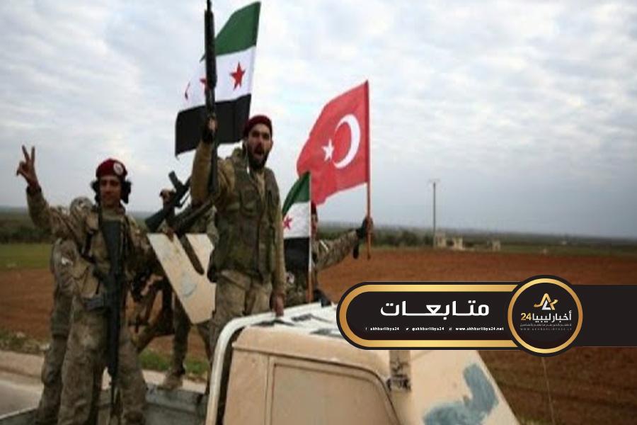"""صورة المرصد السوري: الحكومة التركية تواصل تجنيد """"المرتزقة"""" لصالحها"""
