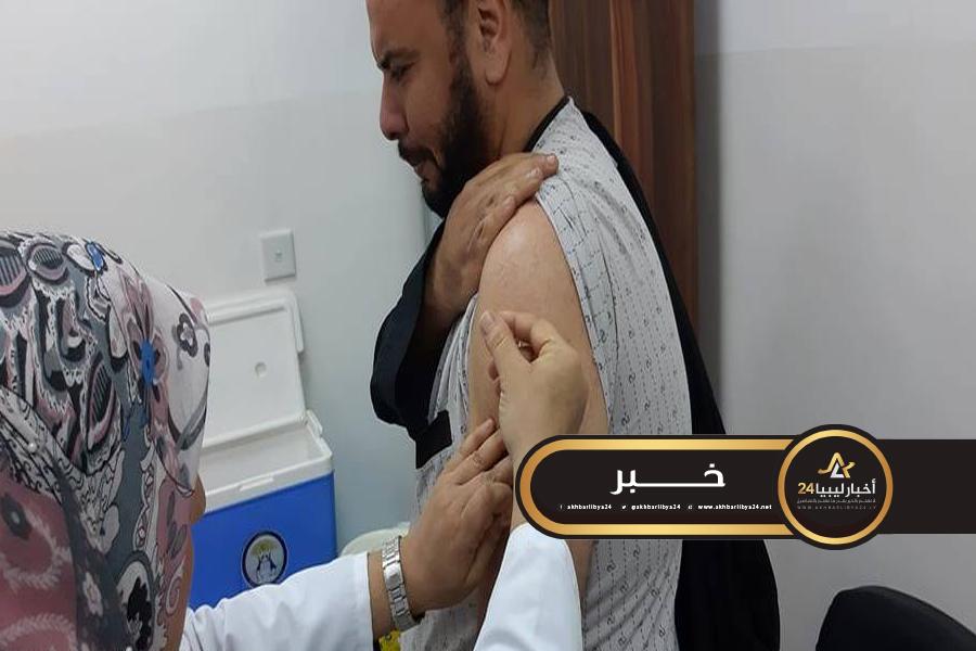 صورة انطلاق برنامج الكشف الطبي والتطعيم لحجاج بيت الله الحرام لهذا العام