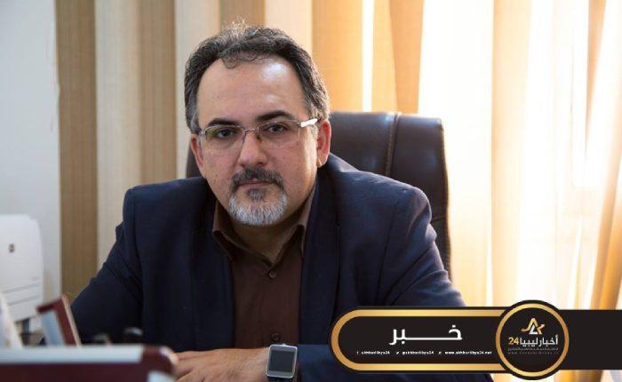 صورة مؤكدًا أن مركزي طرابلس مختطف.. الأغا: الوفاق تُعين قيادات مشبوهة من الإخوان في مناصب عليا بالمصرف