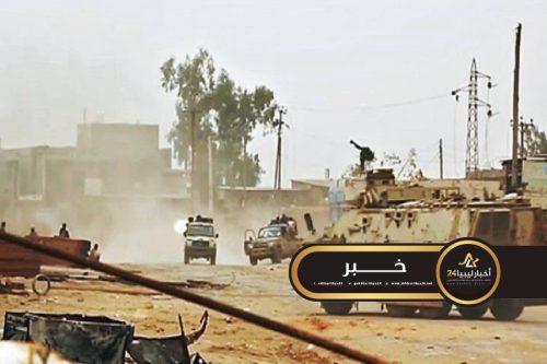 """صورة بعد إعلان الهدنة بسبب """"كورونا"""" .. قوات الوفاق تخرق الهدنة وتقصف أبو سليم ورصد طائرة تركية مسيرة"""