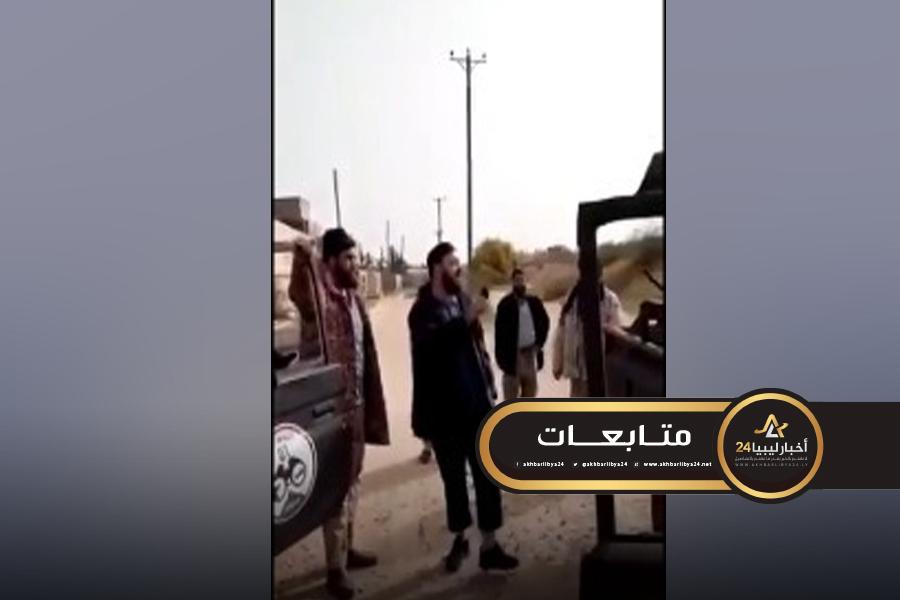 """صورة قوات الجيش تنشر تسجيلًا مرئيًا لأحد قادة الوفاق يدعو لـ""""قطع الرؤوس"""""""