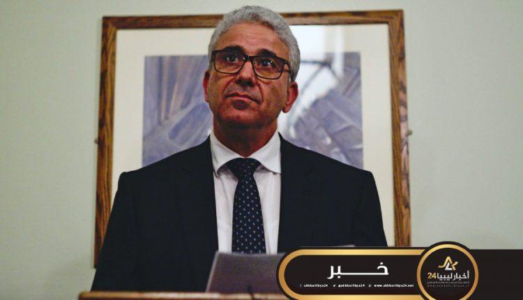 صورة باشاغا يطالب الأجهزة الأمنية بردع تجار الأزمات المحتكرين للسلع الغذائية والطبية