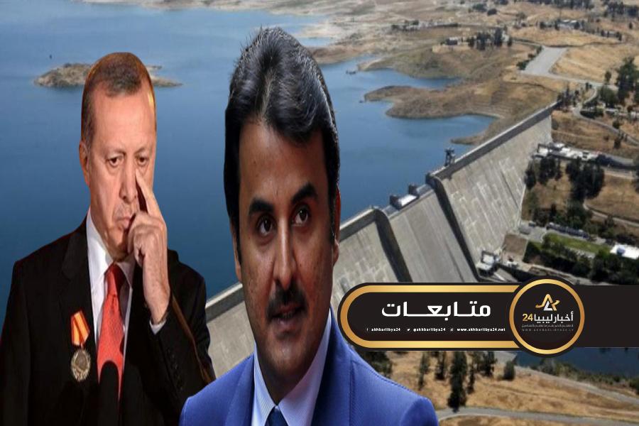 صورة الإخوان المسلمين في ليبيا.. سلاح قطر وتركيا لضرب مصر في إثيوبيا