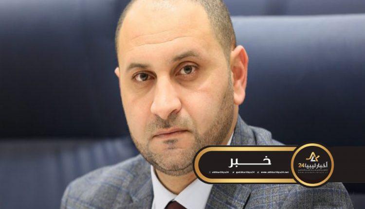 """صورة العريبي يؤكد وصول جهاز الكشف عن """"كورونا"""" لبنغازي"""