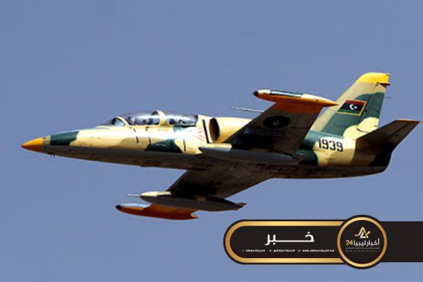 صورة تواصل غارات سلاح الجو على مواقع شرقي مصراتة