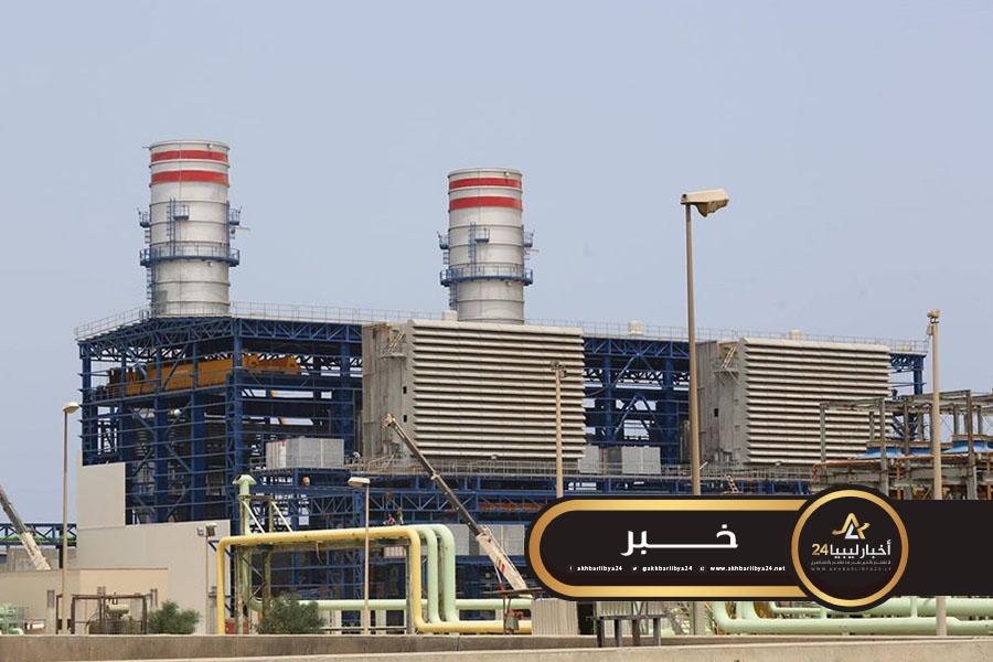 صورة بعد فتح صمام الغاز بسيدي السائح.. شركة الكهرباء تعلن دخول الوحدة الأولى بمحطة الخمس