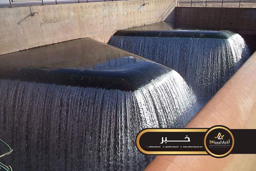 صورة النهر الصناعي: تعرض محطة الكهرباء منظومة الحساونة – سهل الجفارة لاعتداء من قبل مجهولين