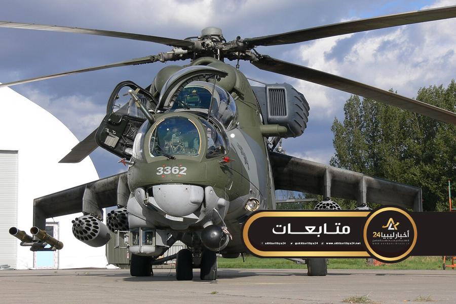 """صورة صحيفة سورية : قوات حفتر تتدرب في سوريا على الطائرة الروسية """"الدبابة الطائرة"""""""
