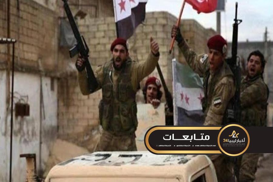 """صورة المرصد السوري: عملية نقل """"المرتزقة"""" إلى ليبيا من قبل تركيا تشهد تصاعداً جديداً"""