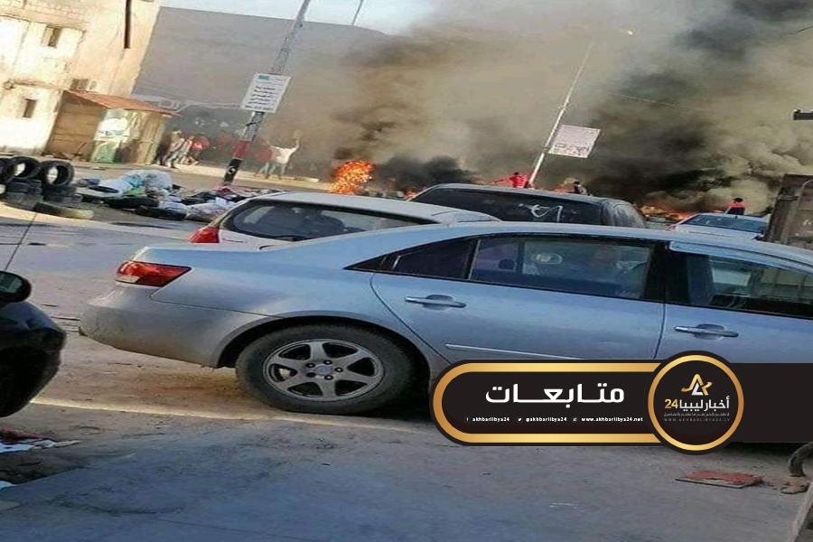 صورة بعد قتل أحد أبنائهم .. أهالي غـوط الشعال يطالبون باشاغا بحل ميليشيا الأمن العام وتقديم أفرادها للقصاص