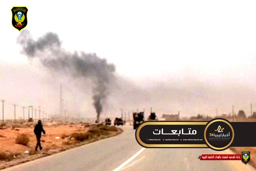 صورة التوجيه المعنوي بالقوات الخاصة تُعلن إتمام مهمتها في أبوقرين