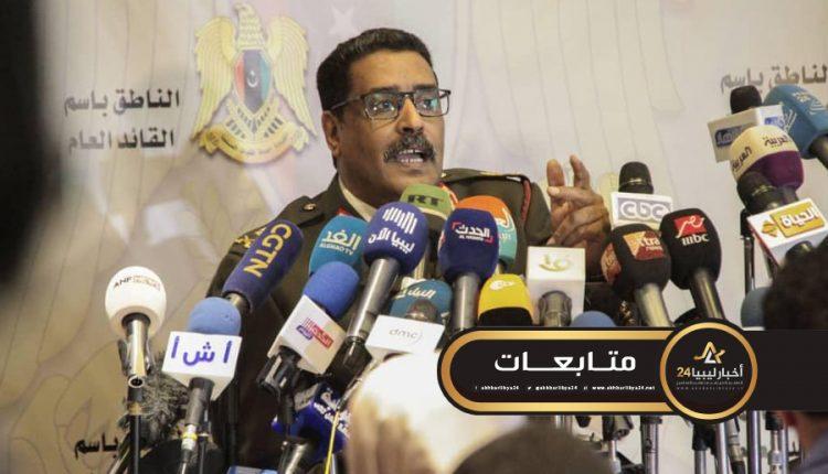 صورة المسماري يكشف تفاصيل العدوان على صبراتة وصرمان ومدن غرب ليبيا