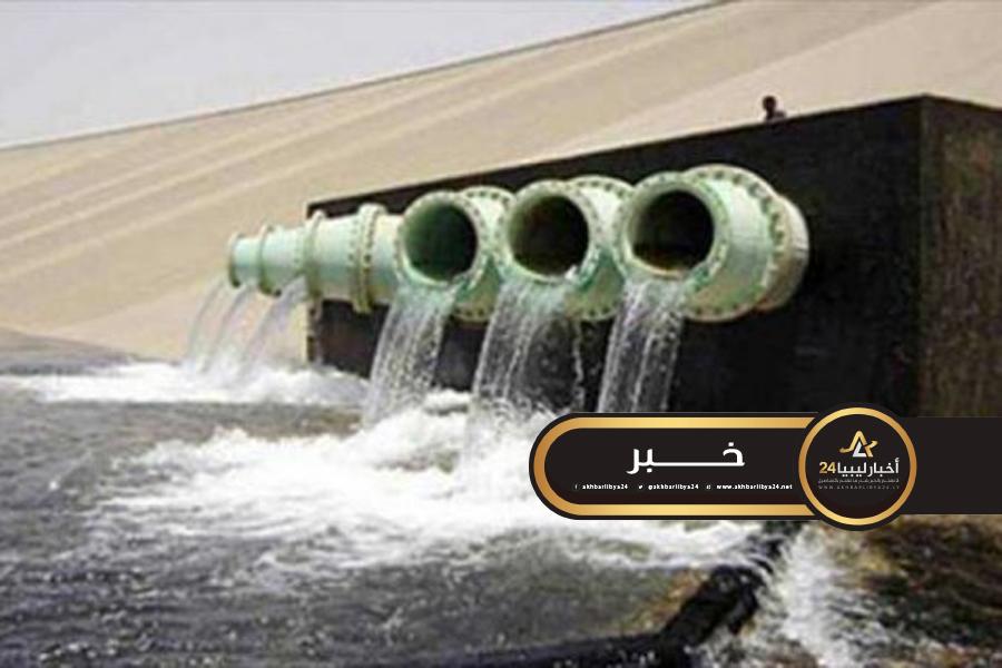 صورة جهاز النهر الصناعي: بدء وصول المياه إلى طرابلس ومحيطها الليلة أو غدا