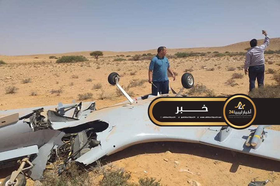 صورة في أقل من 24 ساعة..دفاعات القوات المسلحة تسقط ثلاث طائرة تركية مسيرة