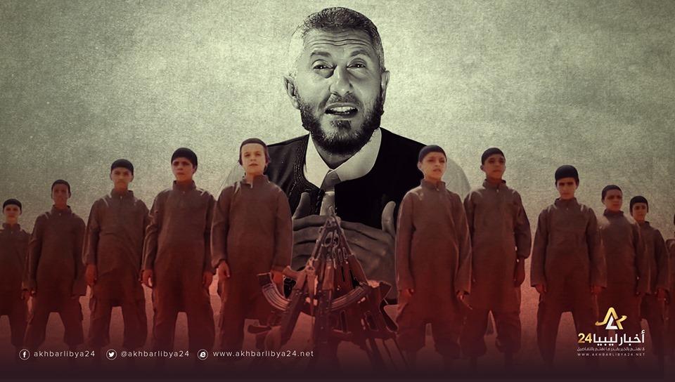 صورة أبرز الدائرين في فلك الإرهابي الغرياني .. الإرهابي غويلة يقتل ابنه بيده زعماً أنه جهاد