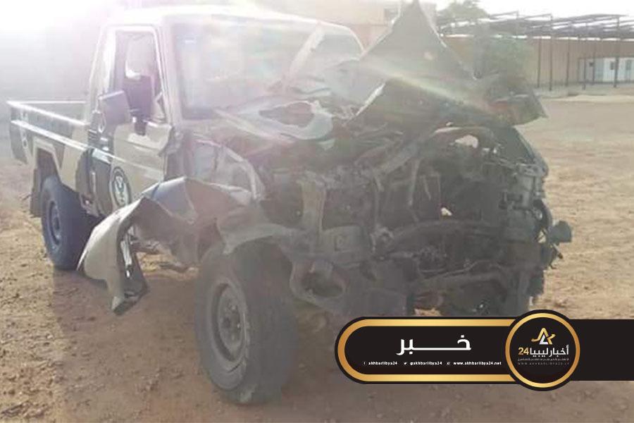 صورة عميد بلدية تراغن: استهداف مقر اللواء العاشر بعبوة ناسفة دون وقوع خسائر بشرية