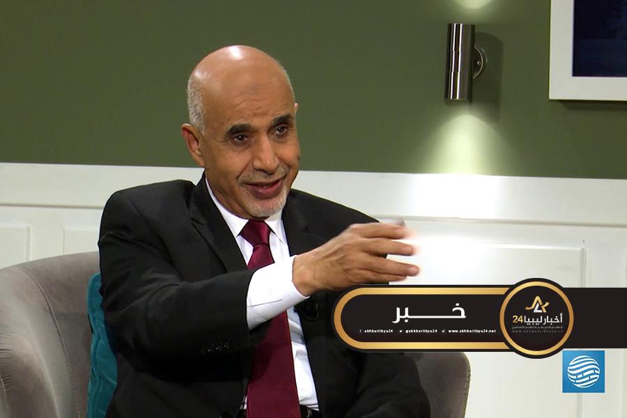 صورة نجل مصطفى بن حليم يستنكر ويحتج على ادعاءات محمد المقريف عبر قناة ليبيا الأحرار على والده