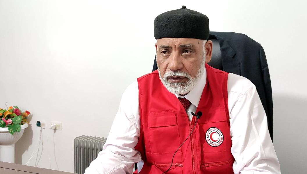 محمد بوخزام رئيس الهلال الأحمر سبها