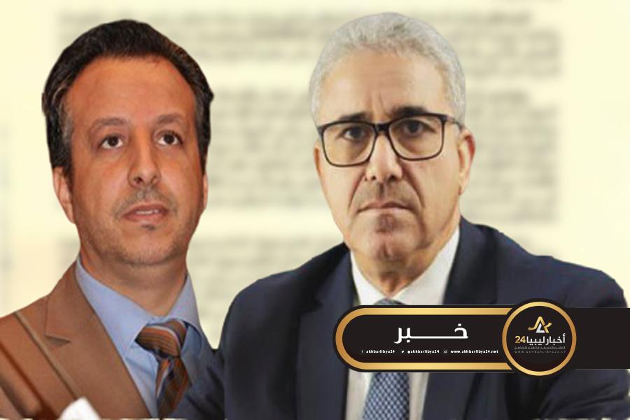 """صورة شكشك يتقدم ببلاغ للنائب العام ضد باشاغا بشأن إخفاء عضو ديوان المحاسبة """"قرقاب"""" قسريًا"""