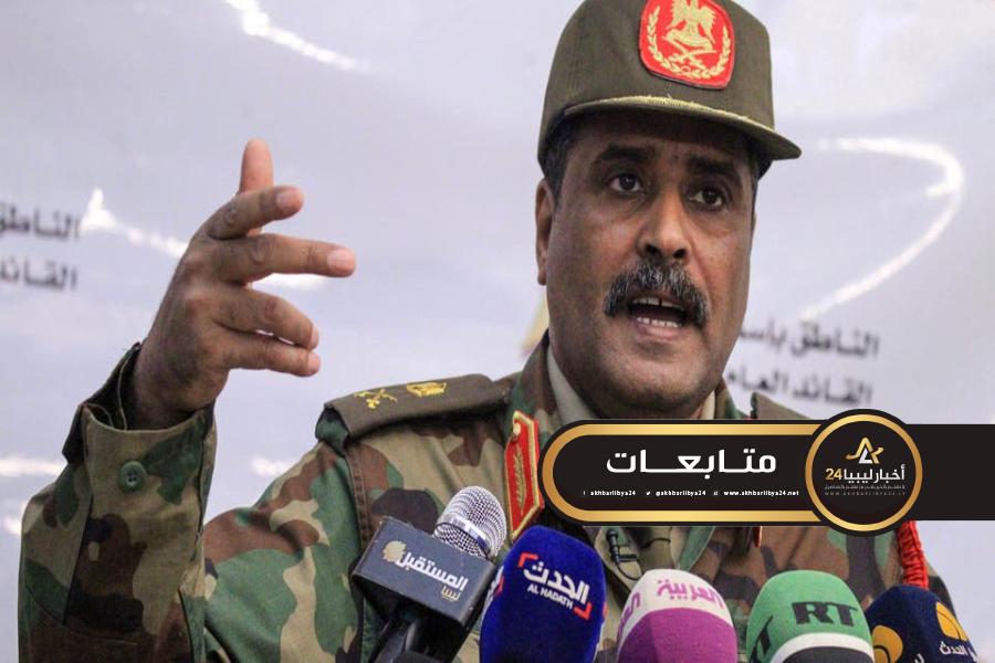 صورة بعد اتهامات سيّالة.. المسماري: الجيش الوطني لازال على تعهده بضمان حماية البعثات الدبلوماسية