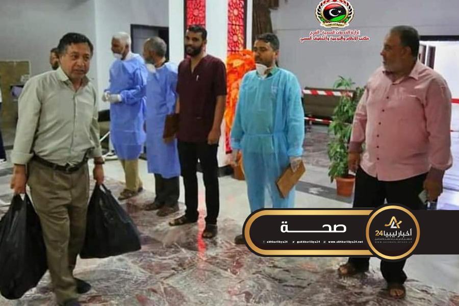 صورة 23 مواطن ينهون فترة الحجر في بلدية المرج
