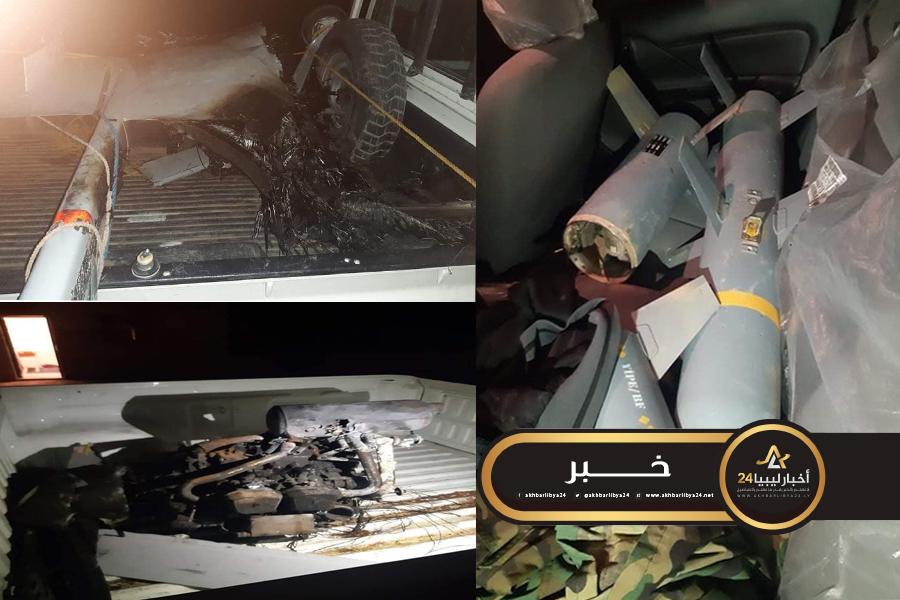 صورة دفاعات القوات المسلحة تسقط طائرة تركية مسيرة في منطقة الشويرف