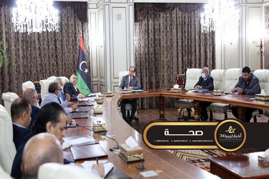 """صورة لجان مواجهة """"كورونا"""" في طرابلس تراجع الإجراءات المتخذة لمواجهة كورونا"""