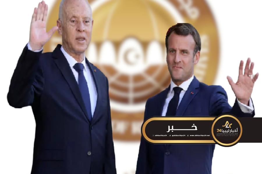 """صورة خارجية النواب تشيد بتصريحات """"سعيد وماكرون"""""""