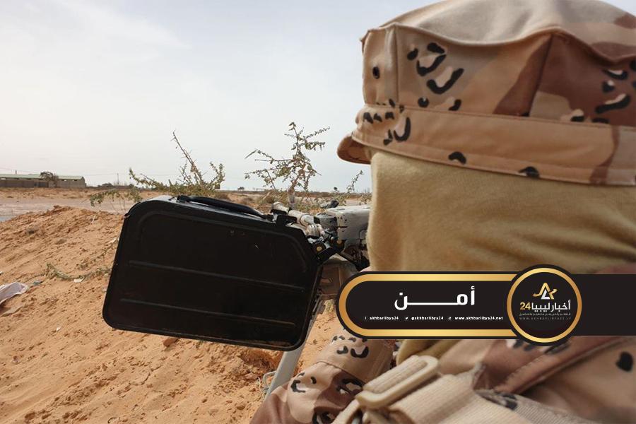 صورة كتيبة 604 مشاة سرت: فرار قوات الوفاق إلى مابعد بوابة الـ 50 غرب المدينة
