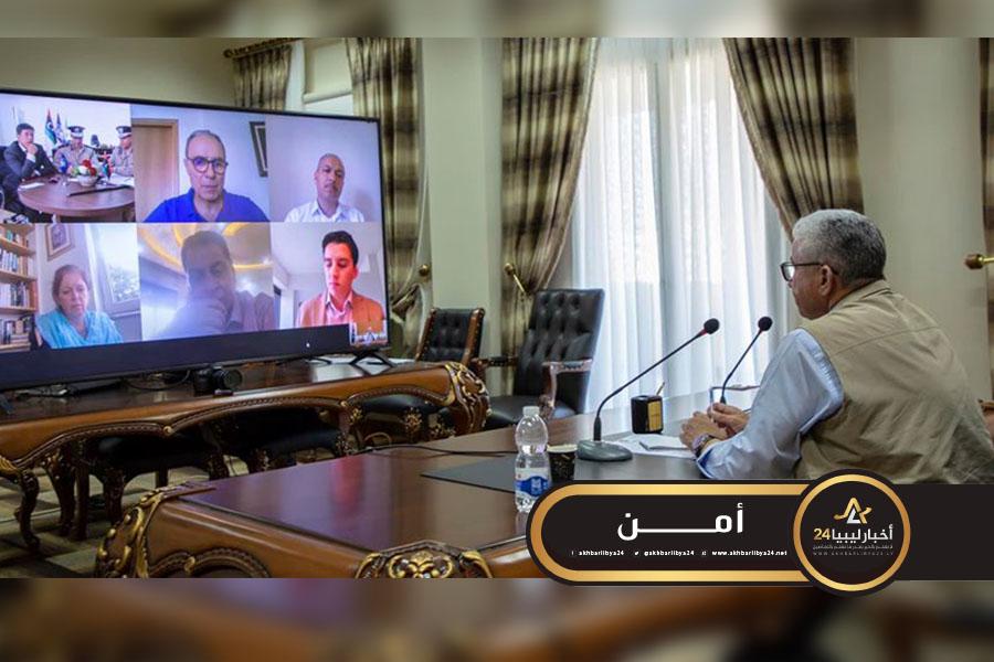صورة وليامز تبحث مع باشاغا برامج نزع السلاح وإصلاح القطاع الأمني