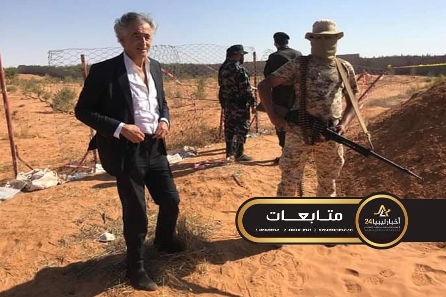 صورة مثنيًا على داخلية الوفاق.. ليفي ينشر صور له أثناء تواجده بترهونة