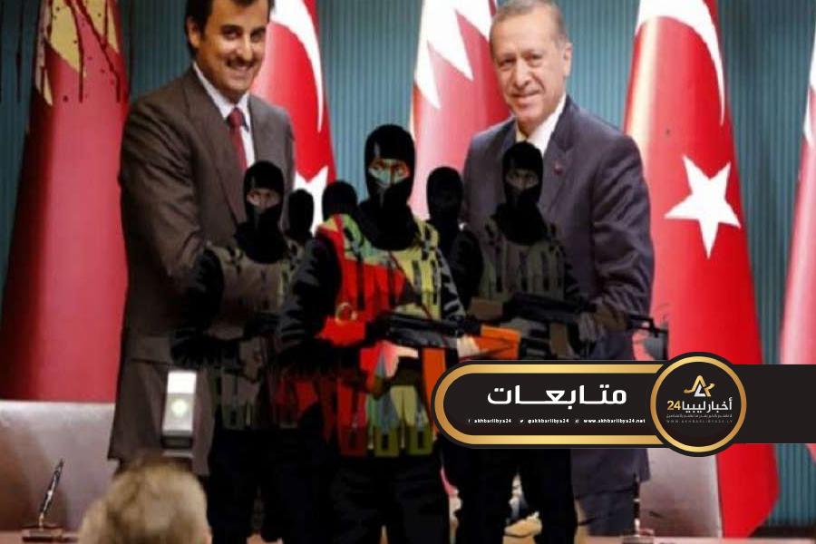 صورة قطبي الشر تدفعان 30 مليون دولار شهريًا للمرتزقة في ليبيا