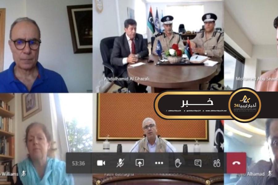 صورة البعثة الأممية: ناقشنا مع داخلية الوفاق إصلاح قطاع الأمن